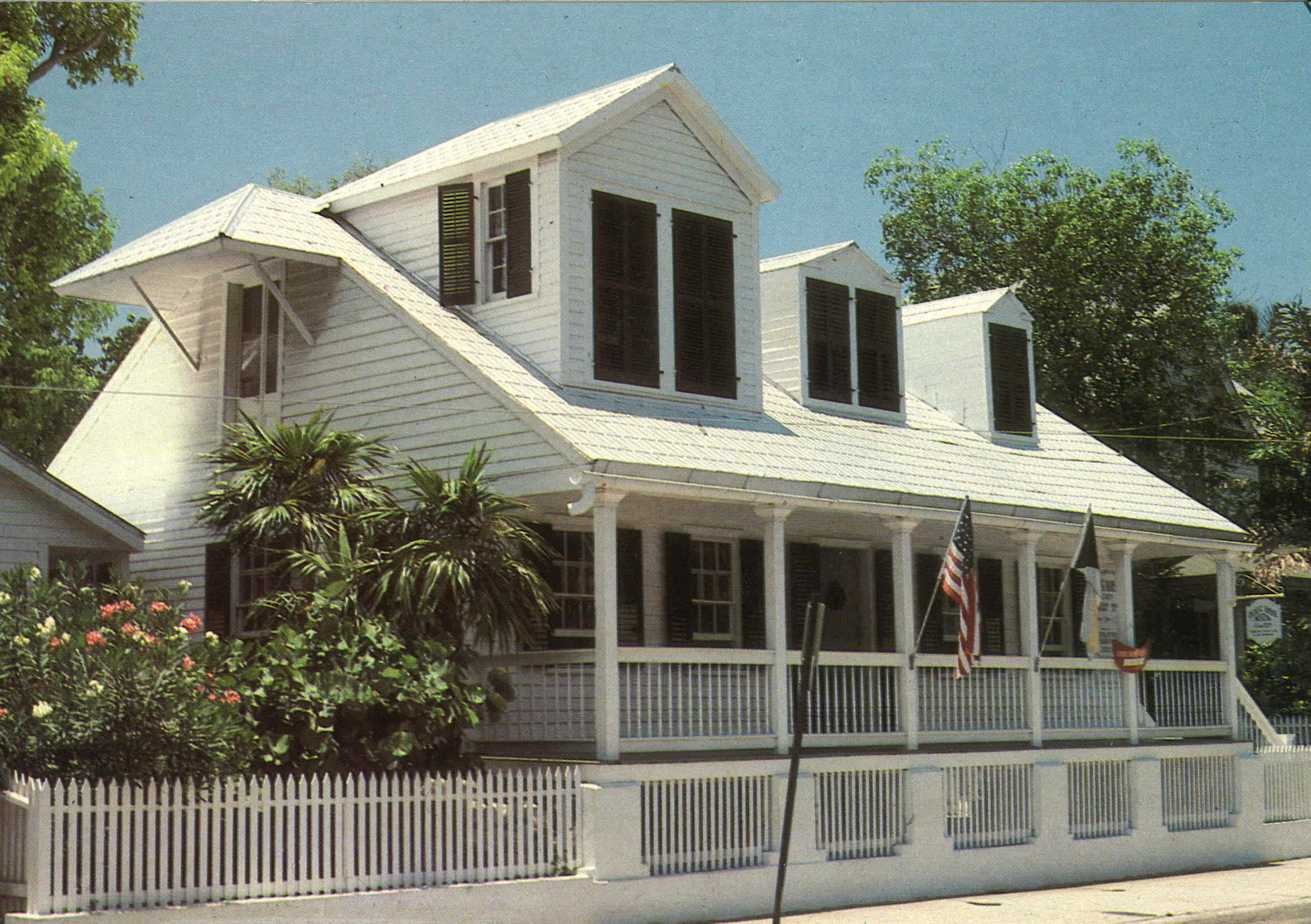 Key West, a place for aspiring writers