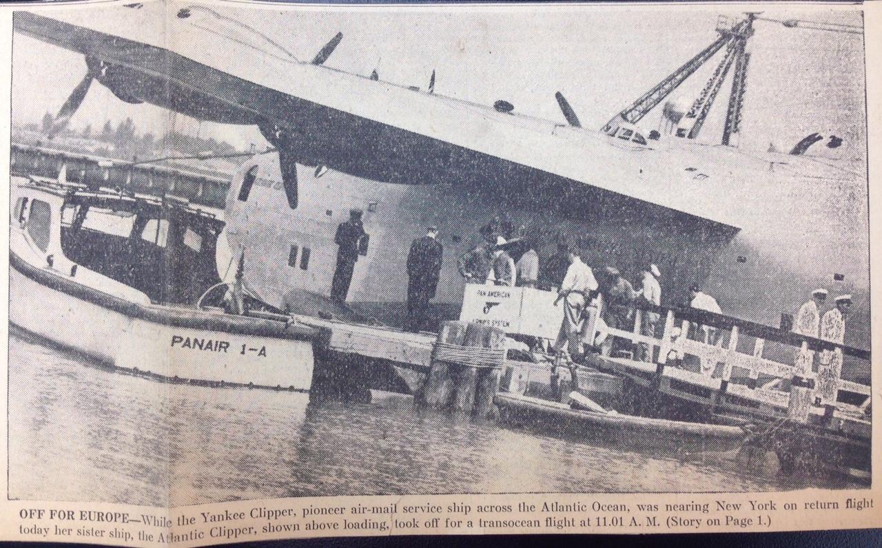 ATL Clipper departure
